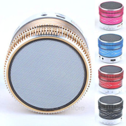 Wholesale Cheapest Speakers For Phones - Cheapest Mini Portable Hands-free Wireless Stereo Bluetooth Speaker For iPhone Ipad Samsung MP4 MP3 Tablet PC FDA1115#Y6