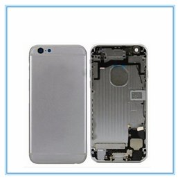 Wholesale iphone middle frame assembly - New Complete Phone Full Body Housing Assembly For iPhone 6 6 Plus 6s 6s Plus Back Battery Door Cover Mid Middle Frame Replacement