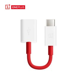 Wholesale Converter Pack - Oneplus Type C OTG Cable Adapter USB 3.1 Type-C Male to Micro Female Data Converter for One plus with retail Packing