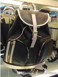 Wholesale Top Grade Branded Handbag - Top Grade Genuine Calf Leather BOSPHORE Backpack luxury handbags women bags designeM40107 Brown Mono Oxidize bags luxury women famous brands