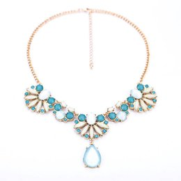 Wholesale Fresh Sweater - Wholesale-Fashion jewelry items , fresh flowers and water drop pendant sweater chain , Ms.
