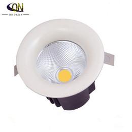 Wholesale Luz Techo - 20W LED Down light COB Dimmable LED Recessed ceiling downlights Lamp de luz de techo For Home Lighting Decorate