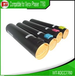 Wholesale Xerox Color Toner - Xerox 7760 , 4 pk Color Toner Cartridges Set for Xerox 106R01160 106R01161 106R01162 106R01163 - 7760 , BK-32,000 , C M Y - 25,000 pages