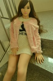 Wholesale Silicone Sex Doll Heads - 456DOLL 163 cm Solid Silicone Sex Dolls Hollow Breast Real Big Breast Vagina Anal Sex Oral Adult Realistic Sex Doll Head Japanese
