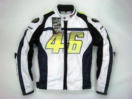 Wholesale White Mesh Jacket - Summer mesh riding motorcycle jacket motocross Racing jacket Protective motorbike off road body armor jacket accessories 46