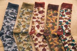 Wholesale Dead Fly - 2016 Camouflage socks Sen Department retro street Harajuku dead fly skateboard Tide men and women long-barreled socks