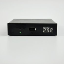 "Wholesale External Usb Floppy - Lowest price 3.5"" 1000 Floppy Disk Drive to USB emulator Simulation For Musical Keyboad Black"