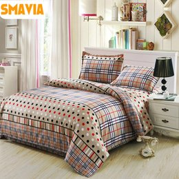 Wholesale Queen Duvet Cover Sell - Wholesale- SMAVIA Hot Selling 3 4 pcs Quilt Cover Sets Bedding Set Quality Duvet Cover Bed Sheet Pillowcase Twin Full Queen King Size Home