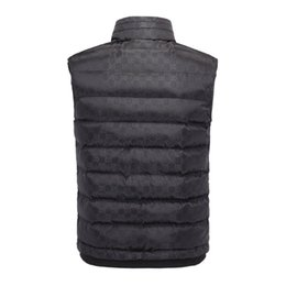 Wholesale Vest Warmer - New 2018 Fashion men winter vest jacket, Leisure winter men sport vest ,Cotton men witner warm vest coat M-3XL
