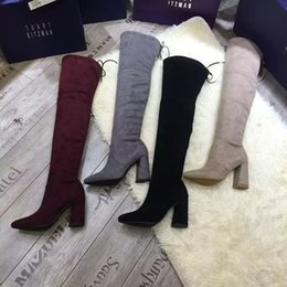 0a12eb2e006 sexy female shoes boots Promo Codes - Fashion Women Snow Boots Autumn  Winter Black Ladies High