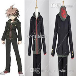 Wholesale Naegi Makoto Cosplay - Wholesale-Free Shipping Danganronpa: Trigger Happy Havoc Makoto Naegi Cosplay Costume