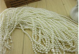 Wholesale 8mm Glass Beads Wholesale - 5000x Lot New Fashion Pearl color Glass Faux Pearls Loose Bead 8MM 9MM 10MM 12MM 14MM 16MM Fit European Bracelets DIY WY108