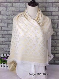 Wholesale Plaid Cashmere Wrap - Plaid Scarves Tartan Scarf Striped Fashion Wraps Check Grid Neckerchief winter Wool Cotton Wrap Shawl Pashmina Scarf