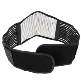 Wholesale Magnetic Waist Support - Magnetic Therapy Elastic Waist Support Belt Protection Ajustable Spontaneous Heating Lumbar Waist Back Belt Brace Cintos
