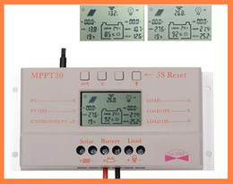 Wholesale Solar Panel Mppt Charge Controller - 2015 30A MPPT LCD Solar Charge Controller 12V 24V 380W 760W Solar Panel Regulator Auto Work,Hot Sale A3*