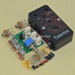 Wholesale Diy Guitars Kits - DIY Guitar Distortion Pedal   Guitar Effect Pedal Distortion   Distortion Pedal Kit