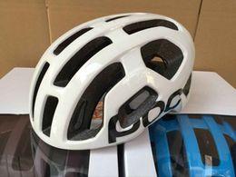 Wholesale Helmet Mountain Bike - Cycling POC Helmet High Quality Mountain Road Race Cycling mtb Road Race Bike whisper Helmet White Bicycle Helmet Sports M 54-60cm With Box