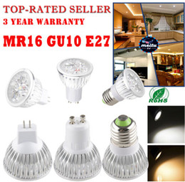 Wholesale Mr16 Pure White Led - Dimmable GU10 E27 MR16 E14 GU5.3 B22 9W 12W 15W Led Lamp 85V-265V Spotlight Led Bulbs Warm Pure Cool CE UL