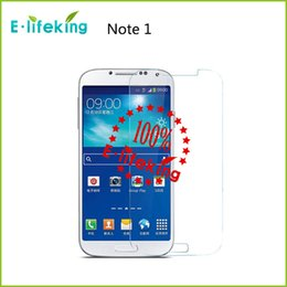 Wholesale S4 Premium - For samsung Note 2 3 4 S3 S4 S5 2.5D Explosion Proof Premium Real Tempered Glass Film Screen Protector with Retail Box