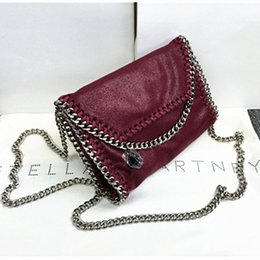 Wholesale M Messenger - Stella M * C Mini Shoulder Messenger Bag chain original material women bag free shipping