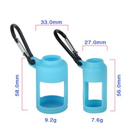 Wholesale Eliquid Case - 30ML 15ML Eliquid Bottle Soft E Cig Pouch Cover Silicone Protective Cover Case Colorful Soft Rubber Skin Protector for E Cig Bottles