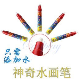 Wholesale Alphabet Boards - magic pen Miracle drawing board Water pen Toys for drawing mat