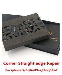 Wholesale Repairs Kit - ANSI 26 in 1 Corner Straight edge Sidewall Bend Fix Repair Tools iCorner kit for iphone 5 5s ipod ipad 6 plus