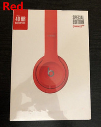 Wholesale Headphones Electronics - High Quality Wireless Headphone Bluetooth Headphones on-ear Headset With Retail Package new colors DHL Free