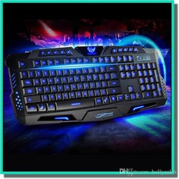 air touch tastatur usb Rabatt Gaming Keyboard 104keys LED-Hintergrundbeleuchtung 19keys Anti-Ghost-USB-Multi-Media-Laser Lettersteclado mecanico Mechanische Tastatur Dota LOL