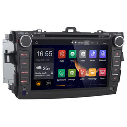 """Wholesale Dvd Usb Tv - Joyous 8"""" 2 DIN Android 4.2 Car DVD Player for Toyota Corolla 2008-2011 with GPS Navigation Radio BT USB AUX 3G WIFI 1.6GHz CUP+1G RAM"""