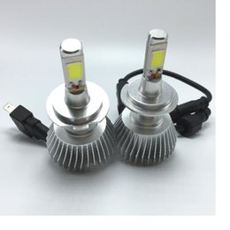 Wholesale Led Cree H7 - 2016 car lighting system led car headlight CREE chip all in one 32w H1 H7 H11 H27 9005 9006 HB3 HB4 880 801