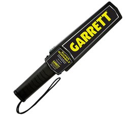 Wholesale High Sensitivity Gold Metal Detector - Hot Sale High Sensitivity Garrett Super Scanner Hand Held Gold Metal Detector For Security Detectors High Quality Free Shipping