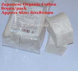 Wholesale Fabric Puffs - Cheapest Japanese organic cotton Koh Gen Do RDA Wicks japanese cotton fabric puff japan cotton wick pads For RBA RDA kayfun v4 E cigarette