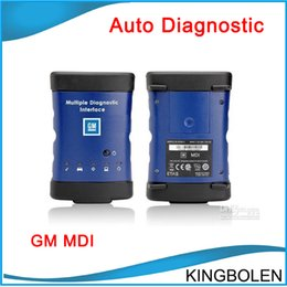 Wholesale Russian Scan - GM MDI Scanner Multiple Diagnostic Interface For GM with Lastest Softwares GM MDI Scan Tool DHL Free Shipping