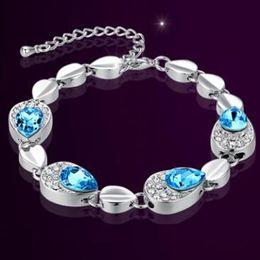Wholesale Still Bracelets - My heart is still manufacturers selling high-end fashion jewelry explosion crystal bracelet bracelet