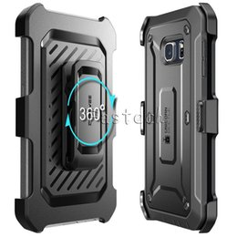 Wholesale unicorn beetle series iphone - 2017 Unicorn Beetle PRO Series Robot supcase Heavy Duty Rugged Hybird 2 in 1 Soft TPU PC cover cases for iphone 6 plus Galaxy S6 edge
