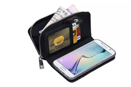 Wholesale Men Flip Phone - High Quality Woven Pattern PU leather Fashion Business Men Women Flip phone case and Card Slots holder for SAMSUNG Galaxy Note 5 Note4 s6