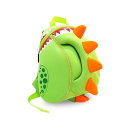 Wholesale Dinosaurs Bags - Dinosaur Backpack Baby Kids Dragon WaterPro of School Bag Boys Girls Cartoon Children's Backpacks