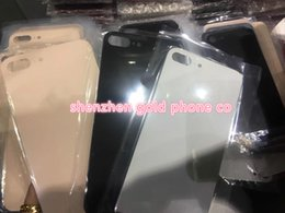 Wholesale Battery Cover Iphone Original - 2018 Back Glass Full Housing Back Battery Door Battery Cover with Adhesive for iPhone 8 Plus X free DHL original all colors back glass hot