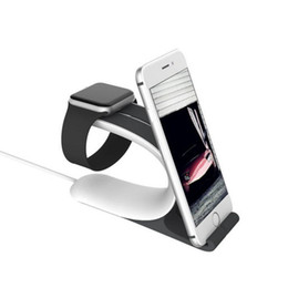 Wholesale Cell Phone Charging Display - New Arrival Unique Design Watch Stand Holder Mobile Phone Charging Holder Desktop Display Stand Dock Holder for All Cell Phones