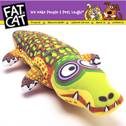 Wholesale Toy Squeakers - Cartoon Crocodile Pet Dog Bite Toy Dourable Big Large Dog Chew Toy Dog Puppy Canvas Sound Squeakers Squeaky Toy Safety