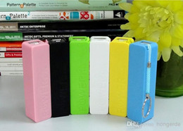 Wholesale External Battery For S4 - Perfume 2600mAh Portable Power Bank Color Mixed External USB Micro USB host battery power bank For samsung S4 s3 iphone5 4 589