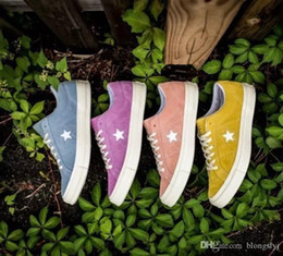 Wholesale Le Run - 2017 Fashion One Star x Golf le Fleur Chuck Tay Lor Yellow Casual Fashion Canvas Fur Designer Running Skateboard Shoes Sneakers 35-44 BOX