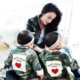 Wholesale Camouflage Jacket Hood - INS hot selling new autumn style cute camouflage uniform style jacket spring fall boy and girl kids casual jacket coat free shipping