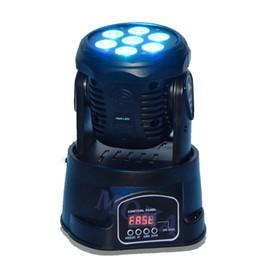 Pro bühnenlicht online-Moka MK-M06A DMX 7x10w rgbw Waschen Moving Head Light 4 in 1 Bühne Disco Pro Beleuchtung
