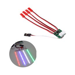 Wholesale Led Strip Track Light - 4S LED Light Strip Controller Control for RC Quadcopter X-copter Hexacopter order<$18no track