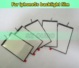 Argentina Reemplazo de reparación de piezas de la pantalla LCD retroiluminación de la película de luz de fondo para el iPhone 5s 50pcs / lot DHL envío gratis Suministro