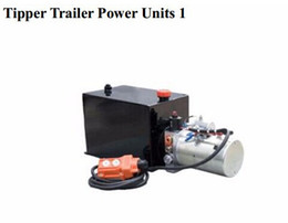 Wholesale 24v Geared Motor - 24v motor for hydraulic Power packing Units for tipper trailer motor and pump with controller