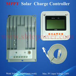 Wholesale Tracer Controller - Tracer 1215BN Max Solar PV Input Voltage 10A 12V 24V MPPT Solar Controller with Meter LCD