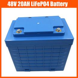 Wholesale 48v Lifepo4 - 48V 1400W LiFePO4 battery 48V 20AH electric bike battery pack 48V Lifepo4   LFP Battery With Plastic housing 58.4V 2A Charger